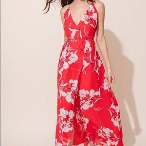 Yumi Kim Rush Hour Maxi Dress in Bay Breeze Red